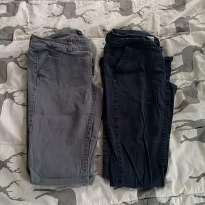 Set of 2 bootcut slacks